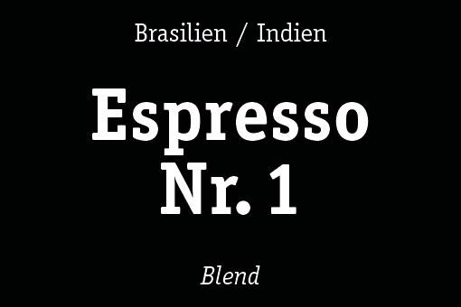 espresso nr. 1