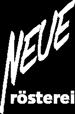 Neue rösterei Coffee – Kaffee und Espresso handgemacht in Lübeck Logo