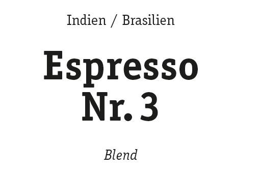 espresso nr. 3
