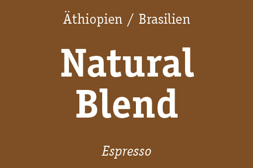 natural blend espresso