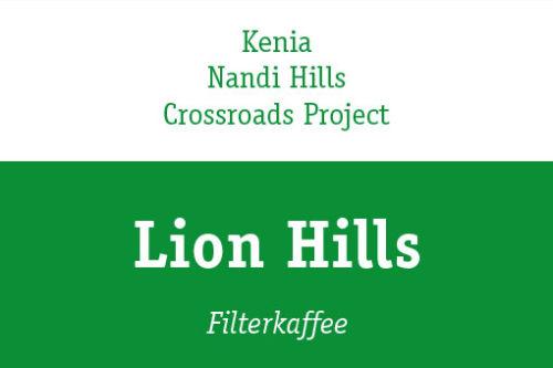 lion hills kaffee kenia